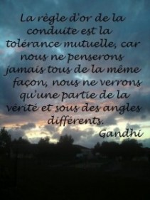 citation diversité gandhi