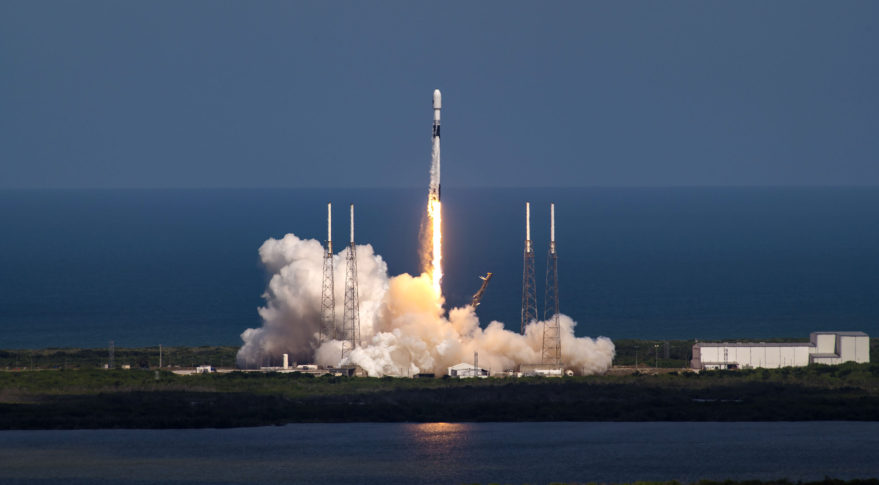 SMC and its partners successfully launch third GPS III satellite