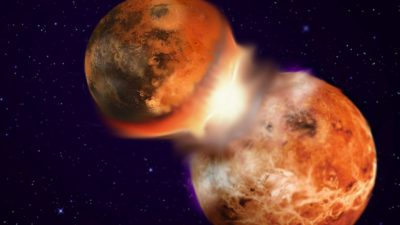 Remains of Theia, Earth's Moon-Forming Impactor, May Still Exist Deep in Earth