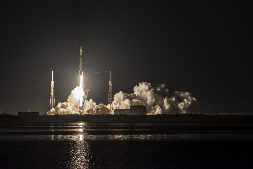 SpaceX Launches Starlink L-22 Mission