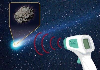 Got Chafing? Burnt-out Comet Found Covered in Talcum Powder