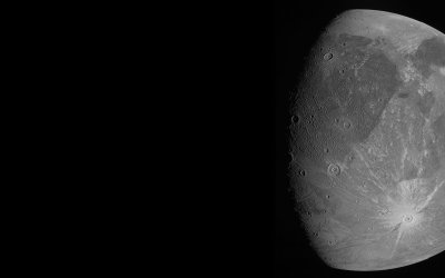 NASA Juno Successfully Performs Ganymede Flyby