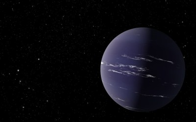 Planetary Atmosphere Parades into Perfect View