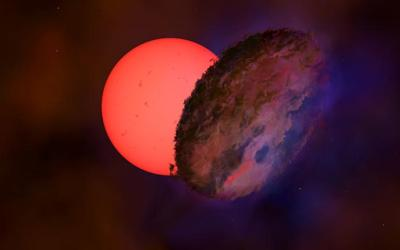 Massive Distant Object Obscures Star