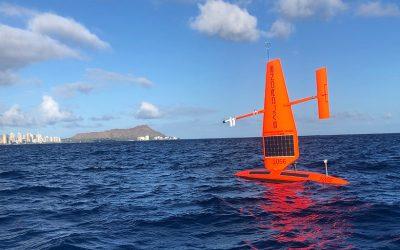 Self-Driving Sailing Ships Do Science