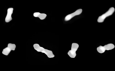 Caught: Optical Images of Dogbone Asteroid, Kleopatra
