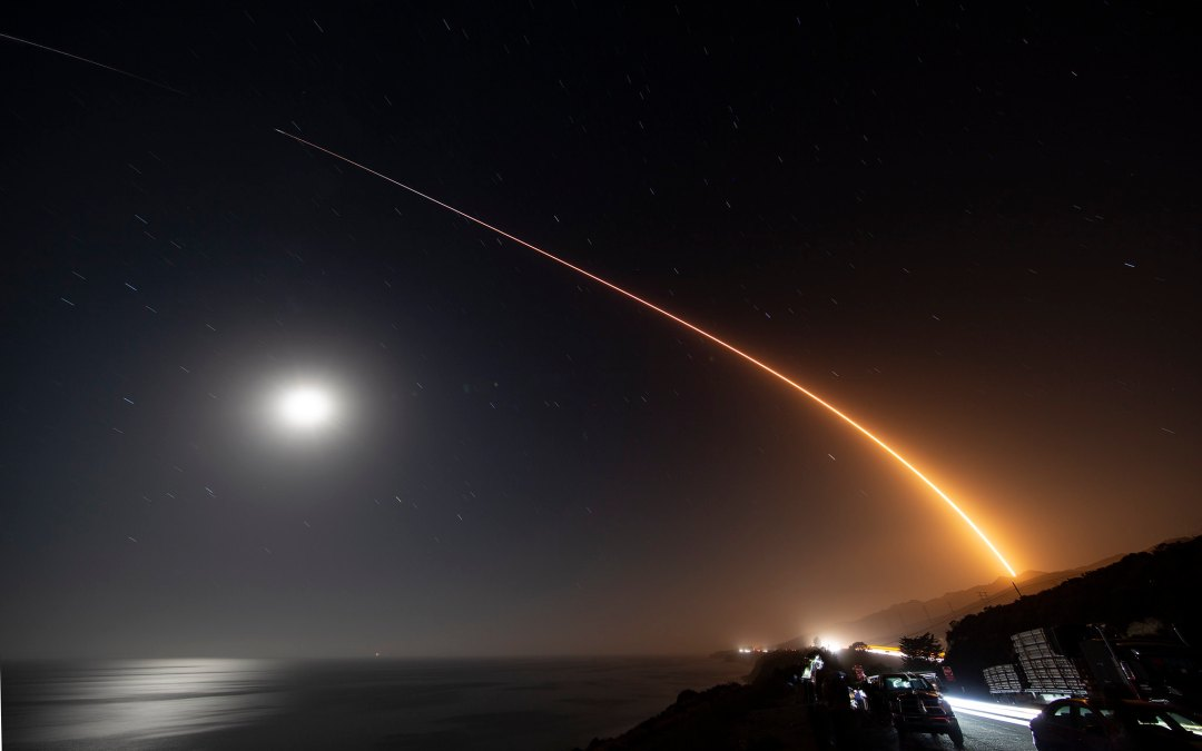 More Starlink Satellites, This Time From California