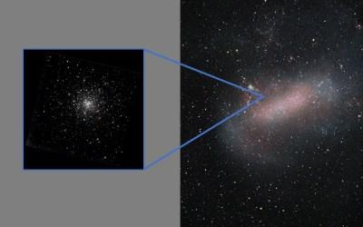 Found: Stolen Globular Cluster