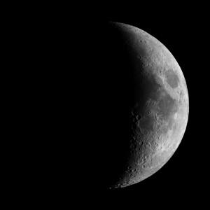 33% Full Waxing Moon