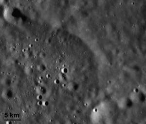 Mafic Mound Region in the South Pole-Aitken Basin