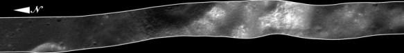 Unprojected LRO Image