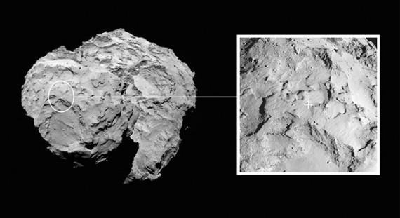 Image credit: ESA/Rosetta/MPS for OSIRIS Team MPS/UPD/LAM/IAA/SSO/INTA/UPM/DASP/IDA