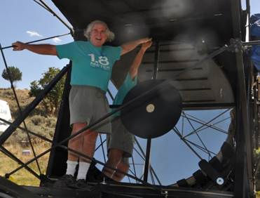 New Home For The World S Largest Amateur Telescope