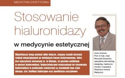 Stosowanie hialuronidazy w medycynie estetycznej
