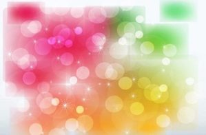 stars-and-color-glows-vector