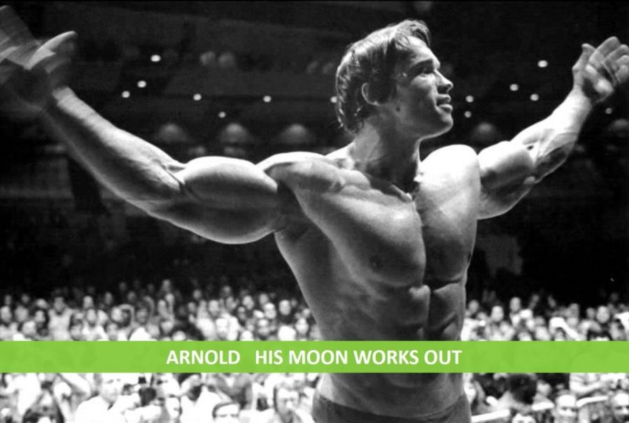 ARNOLD - HIS CAPRICORN MOON WORKS OUT