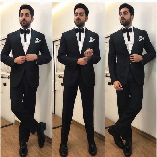 Ayushmann Khurrana at 63rd Jio Filmfare Awards