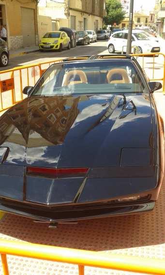 kitt knight rider el coche fantastico gatercon la puerta del tiempo