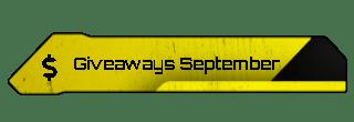 Giveaways September