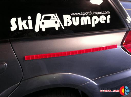 Magenta Ski Bumper