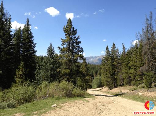 Dirt Road at Gross Reservoir