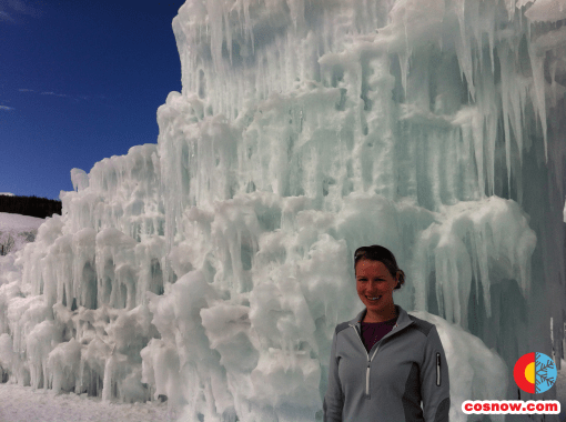 The last time Rachel and I saw the Ice Castles was in Silverthorne in early 2012. Last season they were in Steamboat Springs.