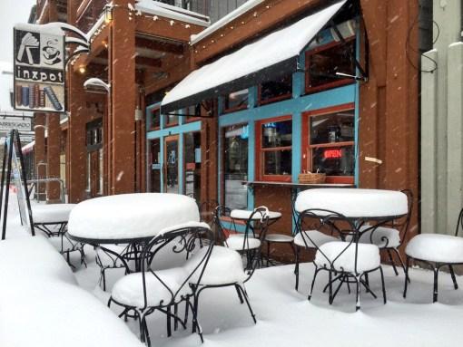 Snow at inxspot in Keystone on November 11, 2015 - photo credit @KeystoneMtn
