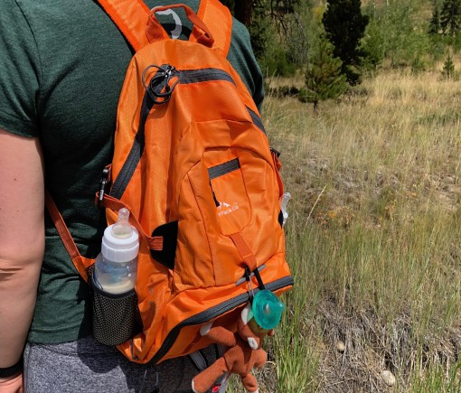 Boulder Pack Co  folding backpack works great on the hill