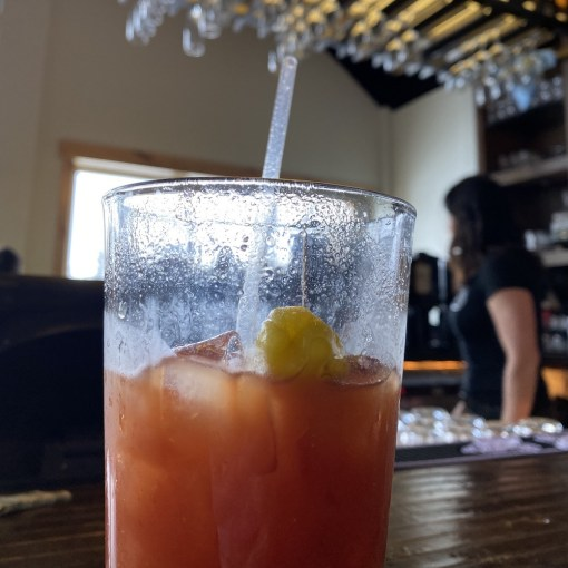 Bloody Mary at happy hour in Lunch Rock on January 2, 2020