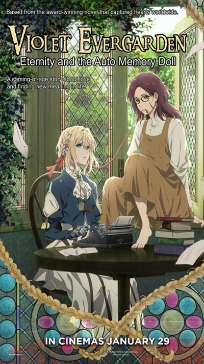 Violet Evergarden Eternity and the Auto Memory Doll Poster