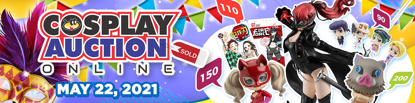 Cosplay Auction Online Vol. 6