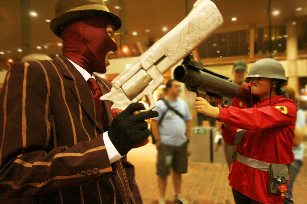 Soldier From Team Fortress 2 By Lockheart Acparadise Com