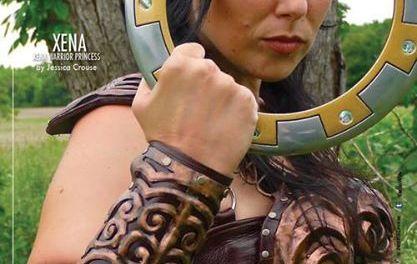 Warrior Princess Jessica Crouse Cosplay