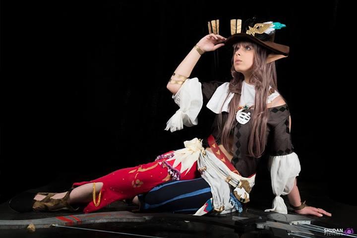 Otaku House Cosplay Idol Harker Elezen Bard From Final