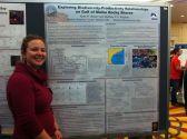 Our dear Kylla presenting her fancy statistical modeling of intertidal algal ecosystem biodiversity.