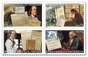 Commemorative stamps released in 2006 representing various pursuits of Ben Franklin (Image credit: http://faq.usps.com/eCustomer/iq/images/AI7546-6.jpg)