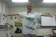 Fish printing on t-shirts is a great way to show off your artistic talents!