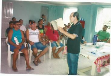 Francisco Ventura levanta a discussão para o assunto que pode resultar em desempregos na área marítima local (Foto: Divulgação)