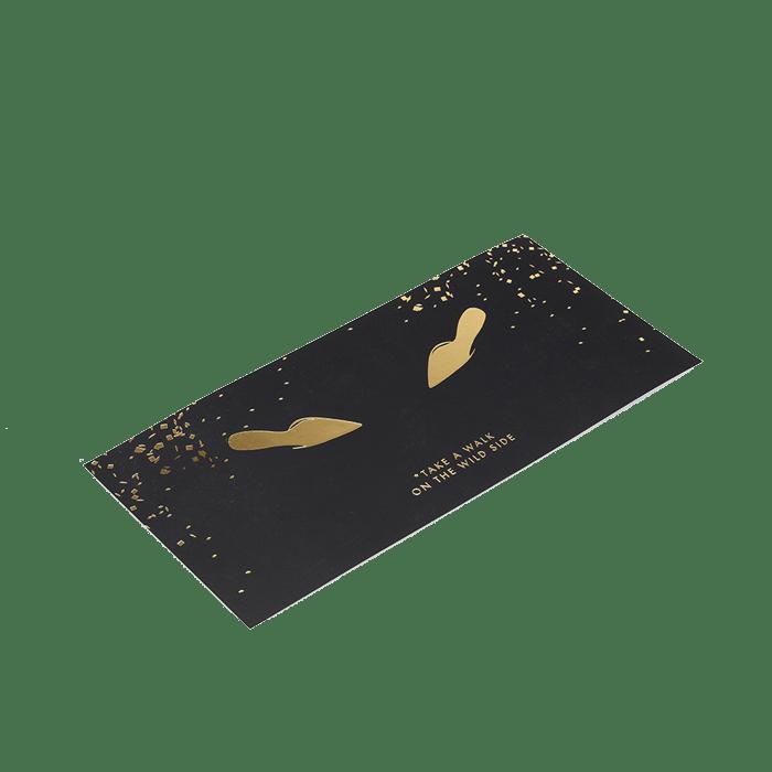 Imprimir convites com termo estampagem - Gráfica no Porto