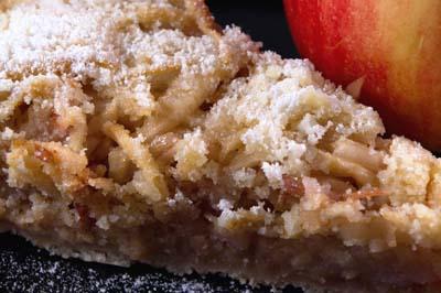Prăjitura de mere cu griș