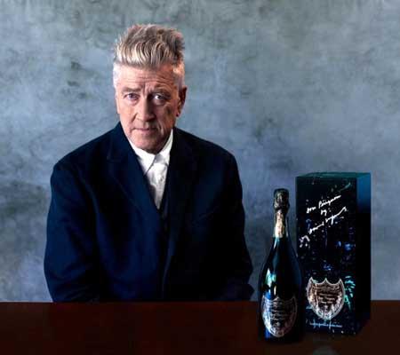 David Lynch Dom Perignon