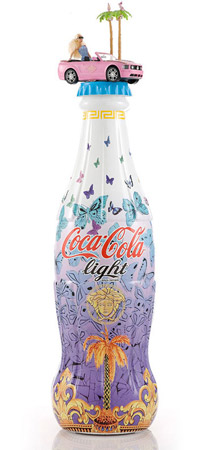 Coca Cola Light Tribute To Fashion Versace 2012