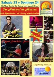 Festival de musica en La Costa
