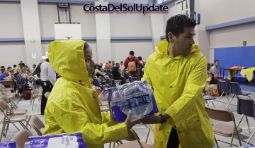 Costa Del Sol Storm Relief Effort Underway