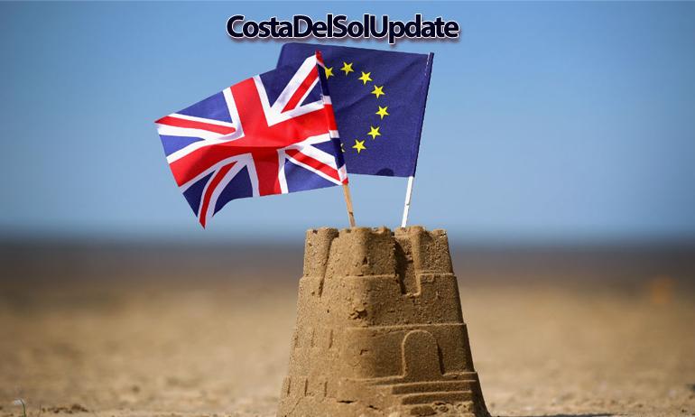 Brexit Sandcastle
