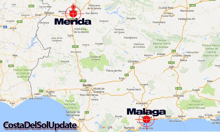 Merida Malaga Airport