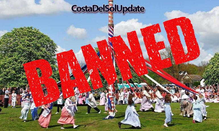 Mayday Morris Dancing Banned