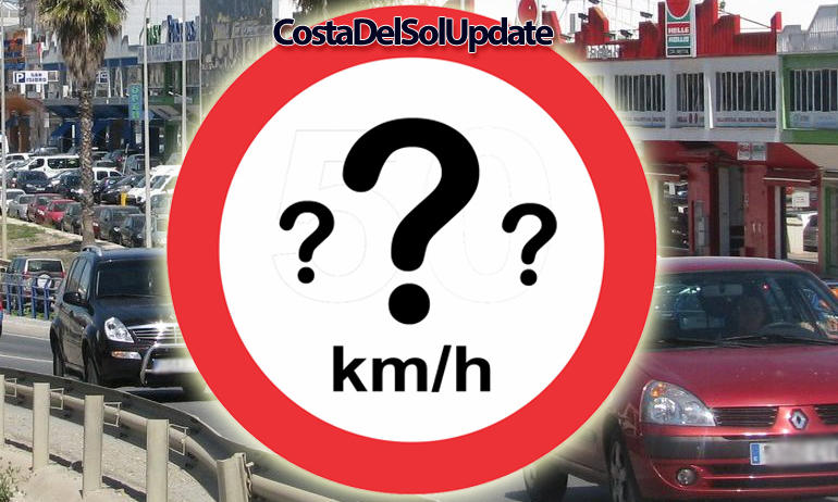 Brits Confused By New Speed Limits In Spain