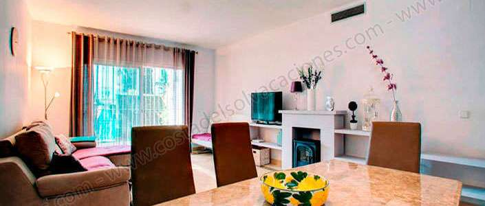 Luxury apartment on the beach in Estepona with private garden