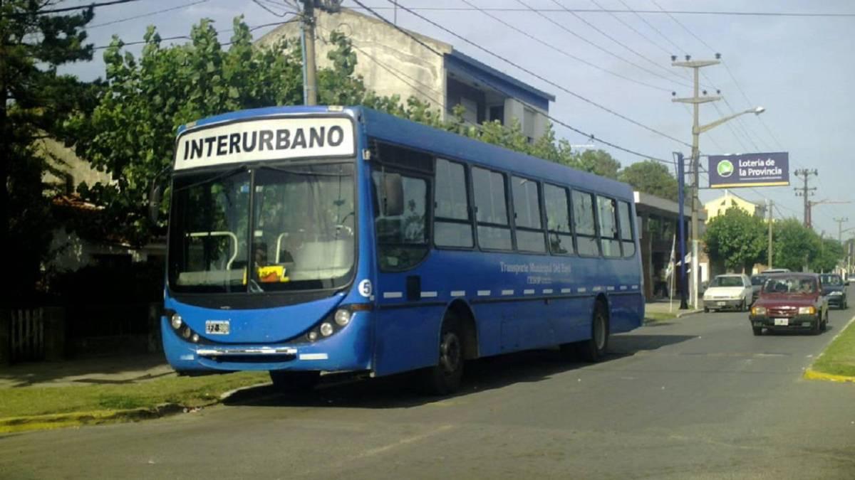 Transporte azul